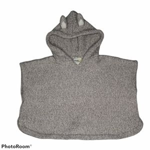 GENUINE KIDS Poncho Sweater
